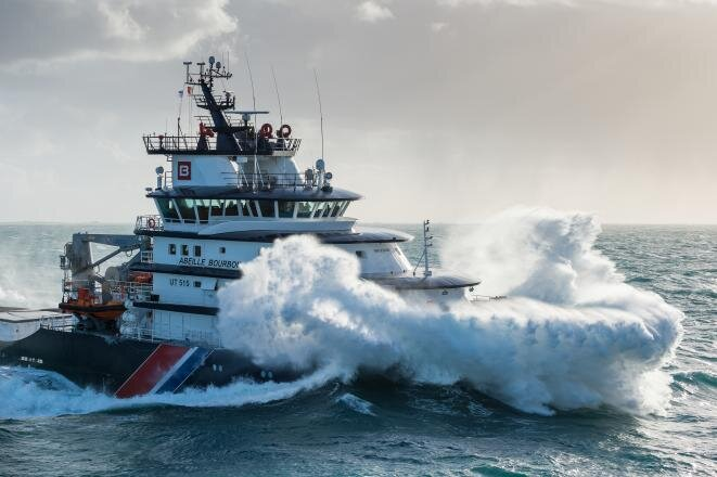 Rough times ahead: a vessel from Bourbon's almost 500-strong fleet serving the oil and gas industry. © Bourbon Offshore