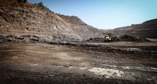 Exploitation minière au Katanga © Christophe Rigaud - Afrikarabia