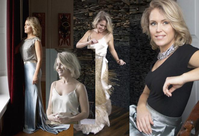 Nikoo Hamzavi shoots of Jennifer robinson. Photos assembled for our article. © Nikoo Hamzavi