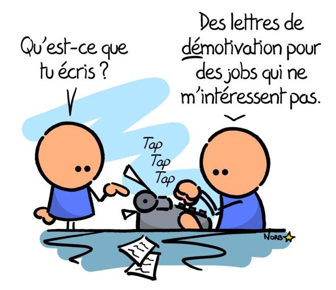 La lettre de démotivation © Norb