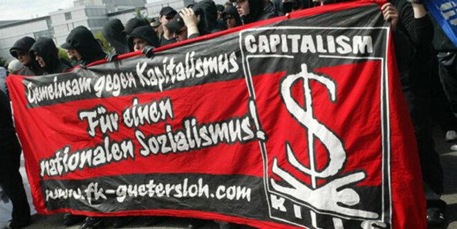 Ils veulent un « socialisme national » - donc, du « national-socialisme ». Les néonazis allemands deviennent de plus en plus dangereux. © Marek Peters / www.marek-peters.com / Wikimedia Commons / GNU 1.2