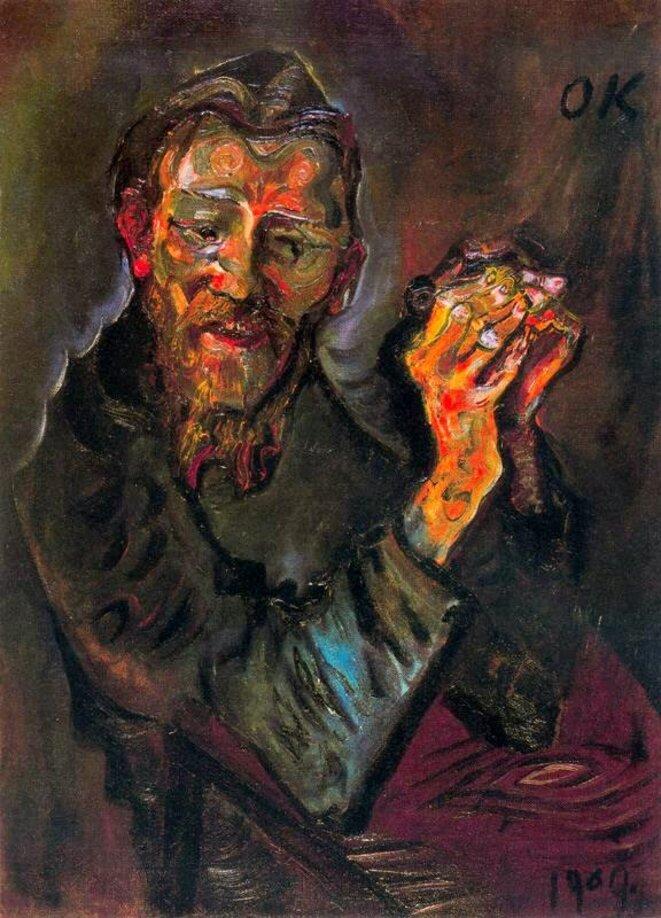 © Félix Albrecht Harta, Oskar Kokoschka, 1909