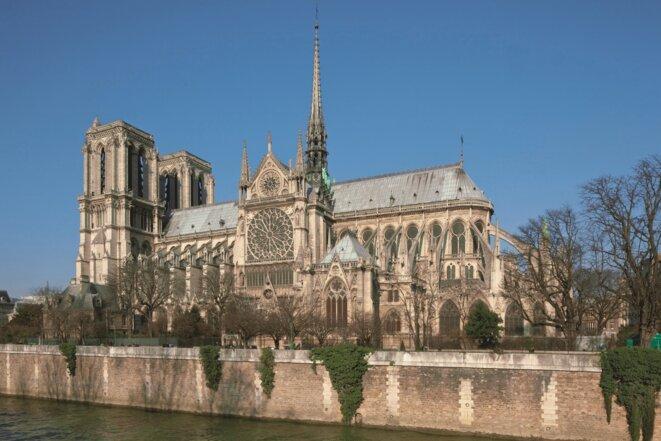 Notre-Dame de Paris, immortalisée quelques années avant l'incendie dévastateur du 15 avril 2019. © Photo Pascal Lemaître/La Nuée Bleue (reproduction interdite sans l'autorisation de La Nuée Bleue)