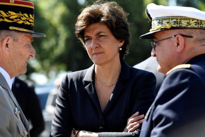 Sylvie Goulard, alors ministre des armées, le 18 juin 2017 © Reuters / Bertrand Guay.
