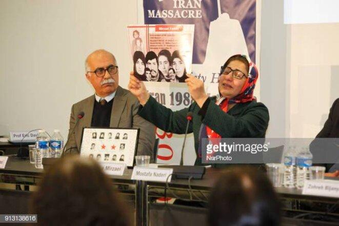 Sima Mirzaii: Nous n'oublierons ni ne pardonnerons les crimes commis par les mollahs au pouvoir en Iran.