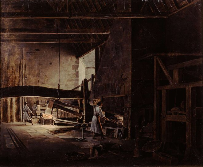 Etienne Bouhot, forge vers 1830-1840