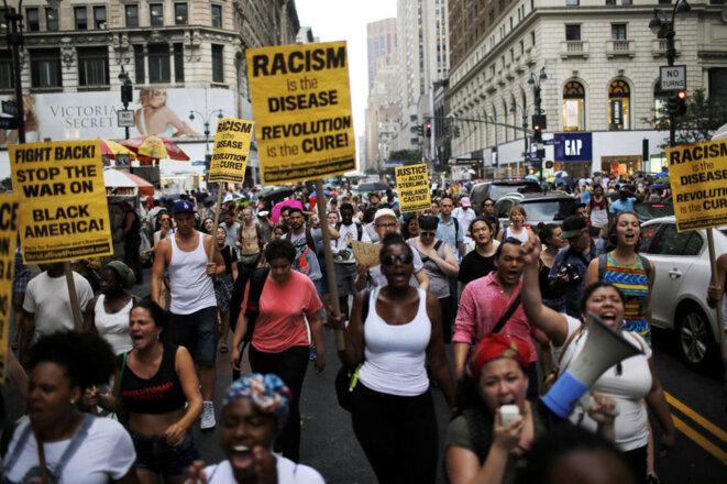 Les violences policières à l'égard de la population noire ne cesse d'augmenter aux Etats-Unis © Reuters