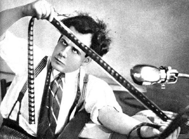 le réalisateur et théoricien Eisenstein
