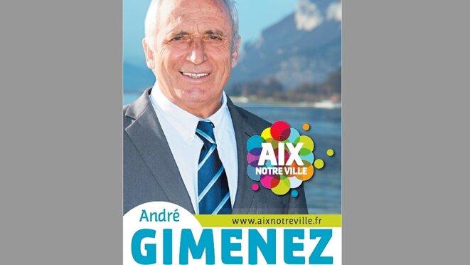 """André Gimenez """"Aix, notre ville"""" municipales de 2014"""