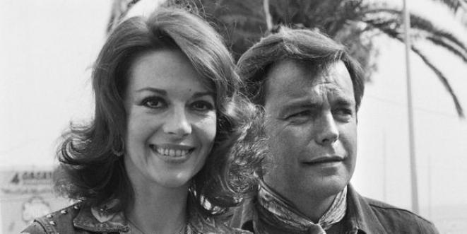 L'actrice Nathalie Wood et son mari Robert Wagner suspecté de son meurtre