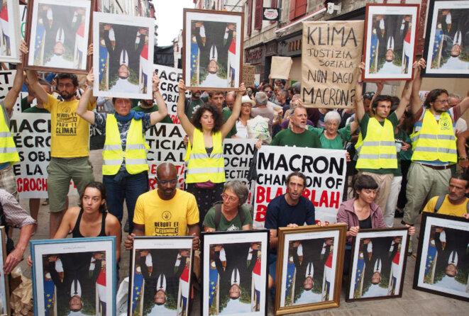 Marche des portraits à Bayonne le 25 août © Michael Augustin
