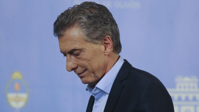 Mauricio Macri © Pagina 12