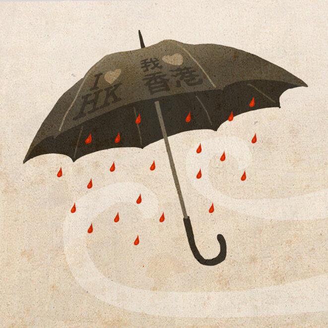 Changement climatique à Hong-Kong © Martin Wautié