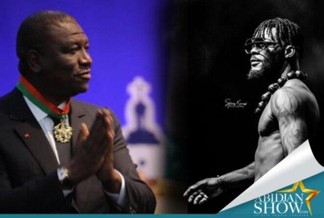 Le roi de la nuit Hamed Bakayoko a tenté de lancer sa candidature à l'élection présidentielle en jubilant sur le cadavre de la star DJ Arafat le 30 août au 31 août 2019 à Abidjan