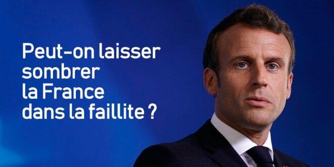 Macron ou la faillite de la France ... © Pierre Reynaud