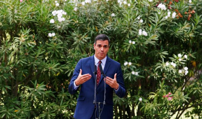 Pedro Sanchez le 7 août 2019 © Reuters / Enrique Calvo.