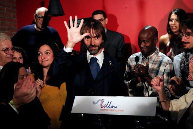Cédric Villani, le 4 septembre 2019, lors de l'annonce de sa candidature. © Benoit Tessier/Reuters