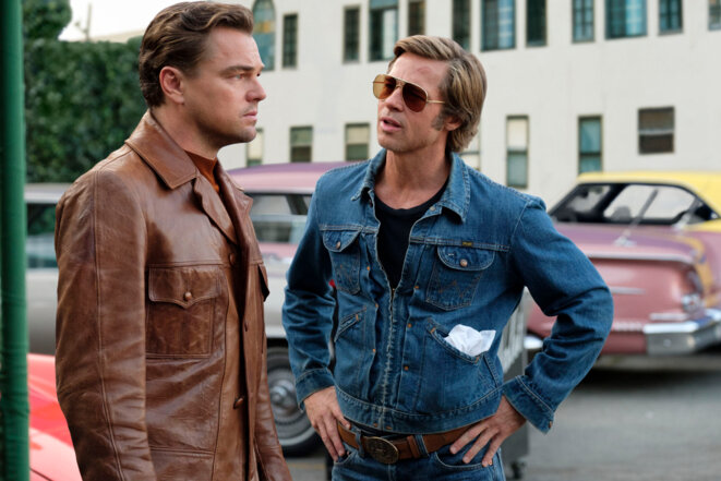 Leonardo DiCaprio et Brad Pitt © Sony Pictures