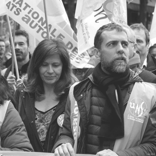 Manifestation unitaire Fonction publique du 9 mai 2019 © Luc Bentz