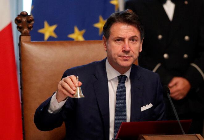 Giuseppe Conte, le premier ministre italien, le 5 septembre 2019. © Reuters