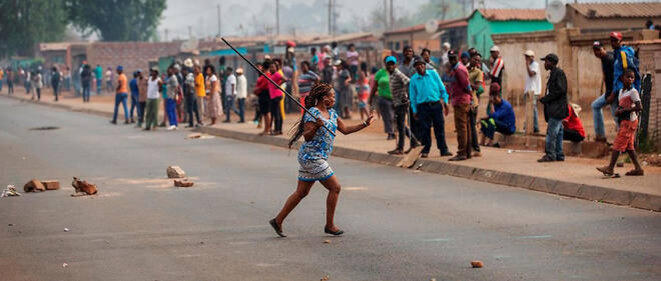 Violences Afrique du Sud © © MICHELE SPATARI