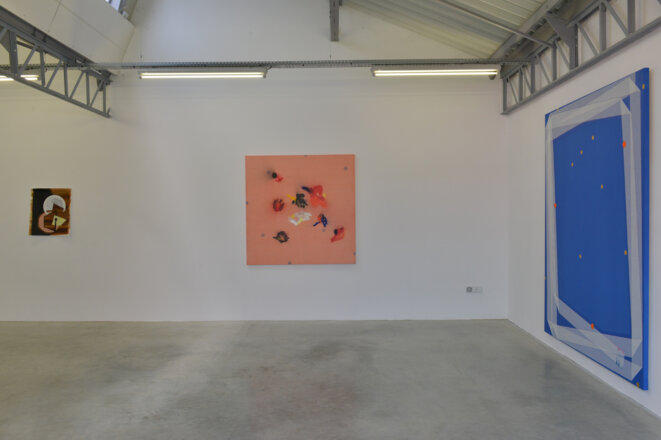 """Vue de l'exposition """"Dissident.e.s"""", Noël Dolla & Delphine Trouche, commissariat: Julie Crenn, Transpalette centre d'art, Bourges, 2019. © Jenny MARY"""