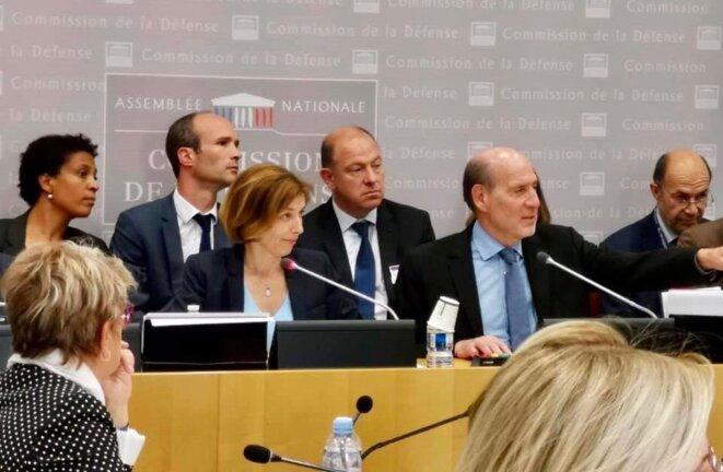 Jusqu'en juillet, le député présidait la commission de la défense à l'Assemblée. © Facebook/Jean-Jacques Bridey