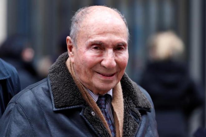 Serge Dassault in 2016. © Reuters