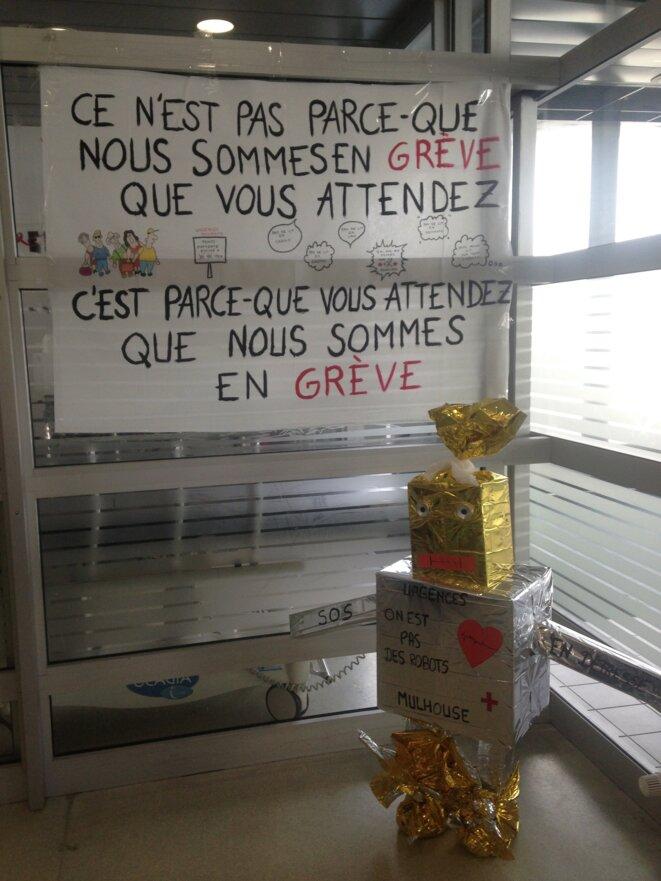 Aux urgences de Mulhouse © CCC