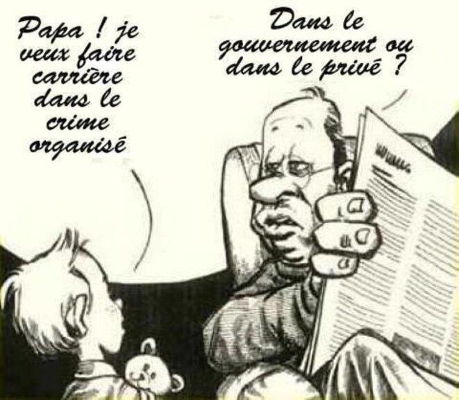 Députés et sénateurs corrompus ? © Pierre Reynaud