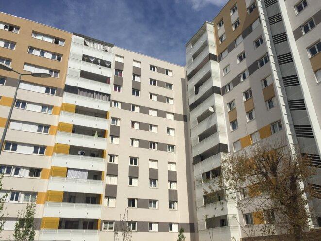 La résidence du Cap dou Mail vient d'être réhabilitée dans le cadre de l'Anru 2. © Mathieu Conte