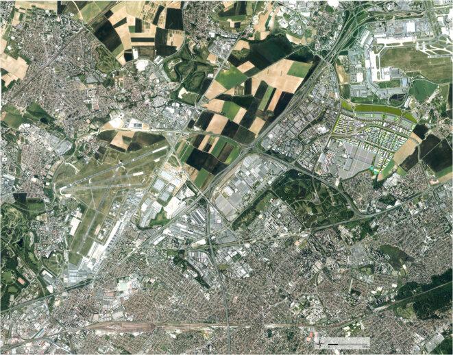 Les 680 hectares du Triangle de Gonesse