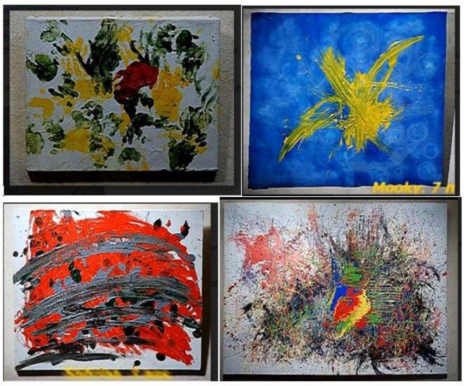4-peintures-de-singes