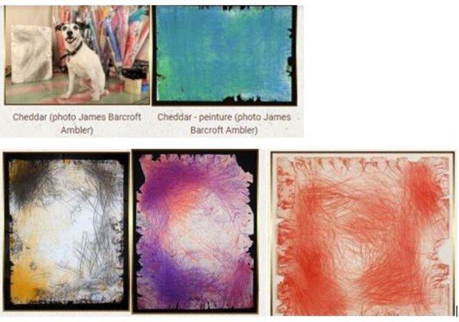 peintures-dun-chien-les-4-peintures-le-chien