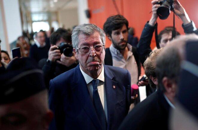 Patrick Balkany lors de son procès le 13 mai 2019. © Reuters