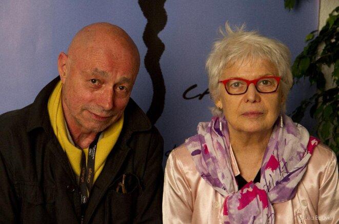 Patrice Chagnard et Claudine Bories © DR