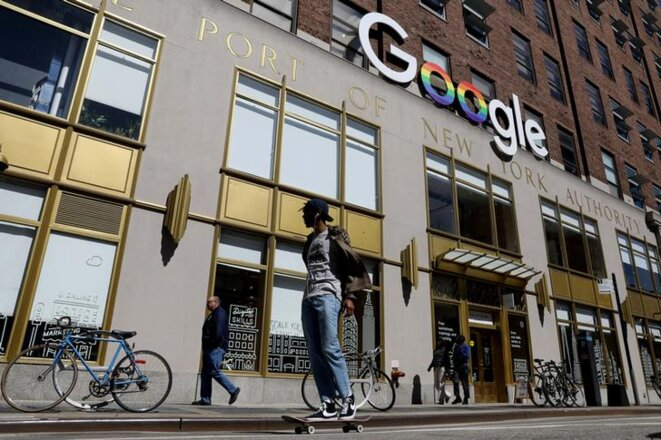 Les bureaux de Google à New York. © Reuters.