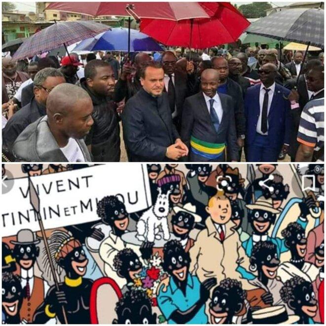 Brice Fargeon et « ses » Gabonais de la honte entrent en campagne !