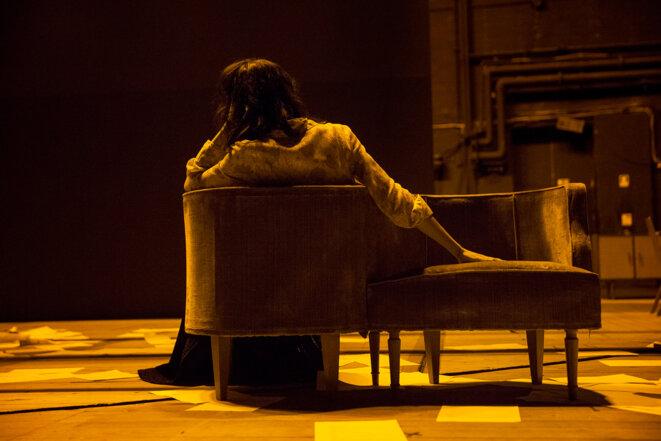 """Scène de """"Como ela morre"""" (Sa façon de mourir) © Filipa Ferreira"""