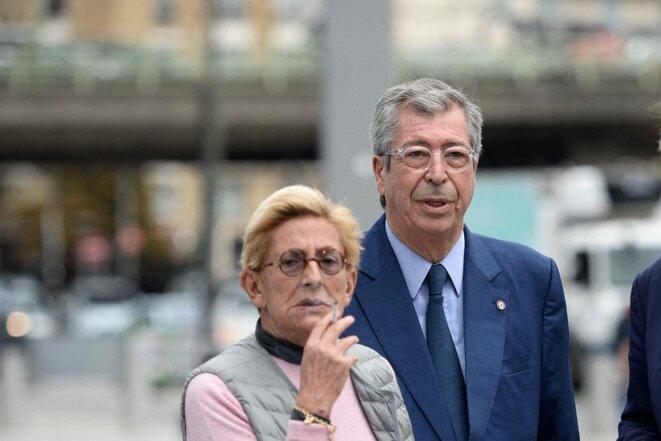 Patrick Balkany a été condamné à quatre ans de prison ferme pour fraude fiscale et son épouse et première adjointe Isabelle à trois ans ferme sans mandat de dépôt. © Thierry Paul Valette