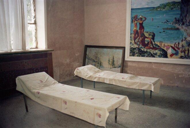 Olessia Venediktova, Relaxation place, Stalin's baths, Tskaltubo, Georgia, 2015 © Olessia Venediktova