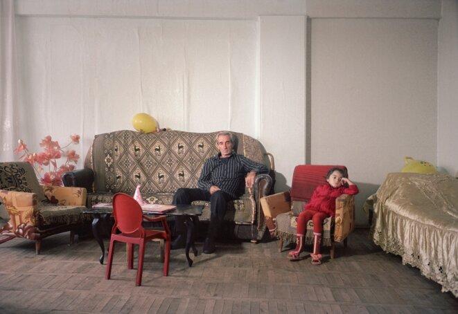 Olessia Venediktova, Refugees from early 90's Abkhazia war, old Soviet sanatorium, Tskaltubo, Georgia, 2014, from the series Forget Them © Olessia Venediktova