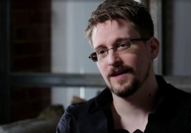 Edward Snowden, septembre 2019. © Guardian