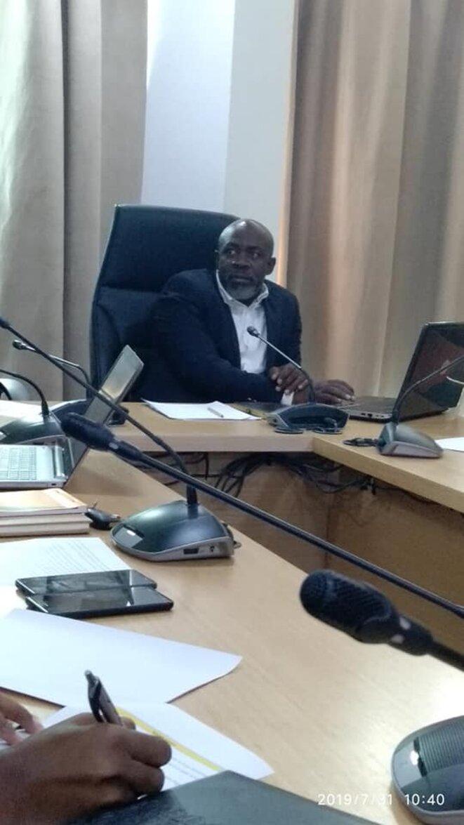 """Gabon-Hervé OMVA OVONO, Coordinateur de l'ONG """"IDRIC-AFRICA"""""""