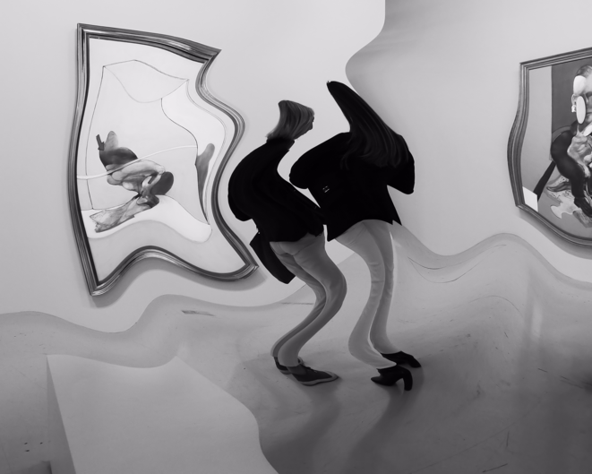 Reflet dans l'o. Photo Jacques Chuilon © Jacques Chuilon