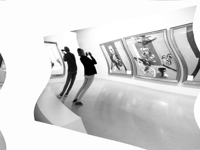 Le couloir. Photo Jacques Chuilon © Jacques Chuilon