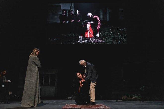 """""""Oreste à Mossoul"""" Conception et mise en scène: Milo Rau d'après l'Orestie d'Eschyle, 2019 © Michiel Devijver"""
