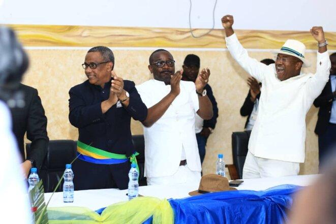 Gabon - 2ème journée de la tournée de Brice LACCRUCHE ALIHANGA à Port-Gentil- Rencontre avec l'ensemble des responsables publics et privés - 18 septembre 2019