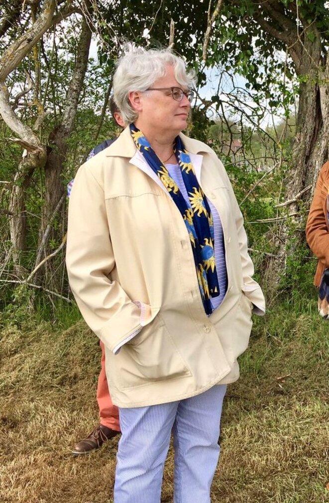 Depuis son arrivée début 2018 dans l'Allier, Marie-Françoise Lecaillon s'est taillé la réputation (justifiée ?) de n'écouter personne. © Compte twitter @claude-riboulet (30.04.2019)