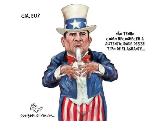 Sergio Moro : La CIA, moi ? Je ne peux pas reconnaître l'authenticité de ce document (ce qu'il avait dit lors de la révélation de ses conversations).
